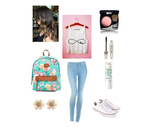 outfit, Polyvore, and spring image