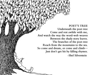 poem, poetry, and shel silverstein image