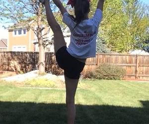 bows, cheer, and cheerleading image