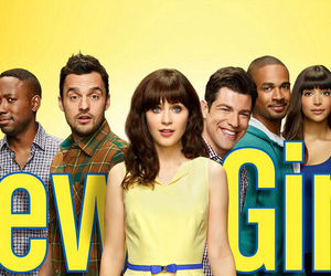 new girl and comedy image