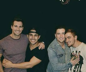 big time rush, kendall schmidt, and james maslow image