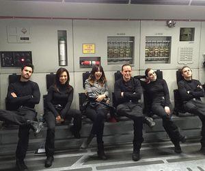 agents of shield and elizabeth henstridge image