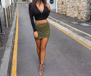 fashion, glamorous, and outfit image
