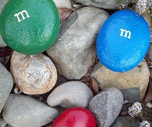 m&m and stones image