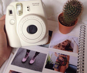 polaroid, camera, and photo image