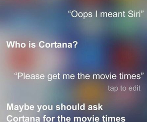 funny, siri, and lol image