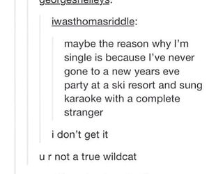 high school musical and tumblr post image
