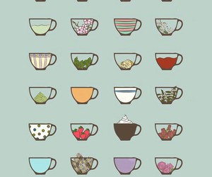 cup, tea, and coffee image