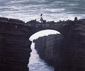 ocean, sea, and bridge image