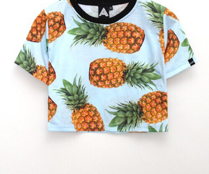 fashion, pineapple, and summer image
