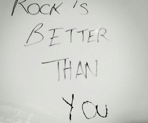 better, rock, and music image
