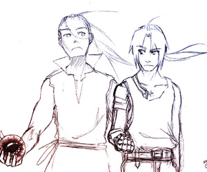 father, homunculus, and edward elric image