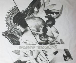 dark, skull, and imagine dragons image