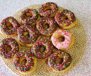 donut, doughnut, and donuts image