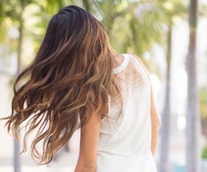 hair, long hair, and pretty image