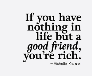 quote, friends, and life image