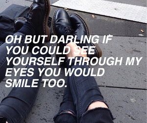 quotes, smile, and grunge image