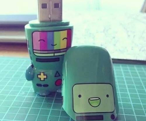 bmo, colors, and aventure time image