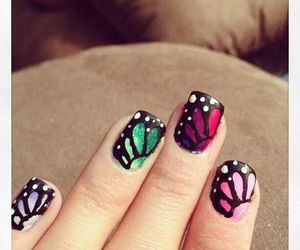 nails, belleza., and uñas. colores. glamour image