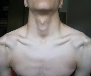 beautiful, clavicles, and boy image