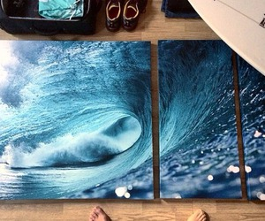 ocean and painting image