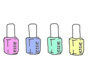 essie, overlay, and nails image