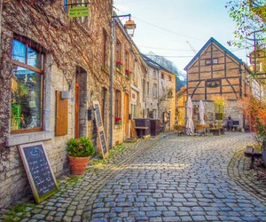 cafe, denmark, and Houses image
