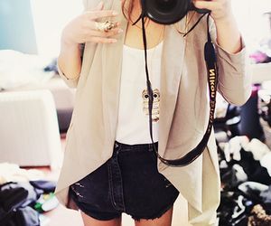 fashion, camera, and outfit image