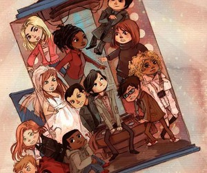 doctor who, tardis, and rose tyler image