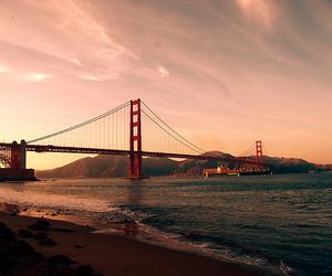 bridge, photography, and san francisco image