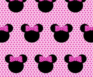 background, minnie, and wallpaper image