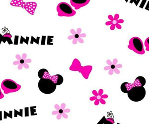 background, wallpaper, and minnie image