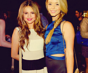 selena gomez, sasha pieterse, and hair image