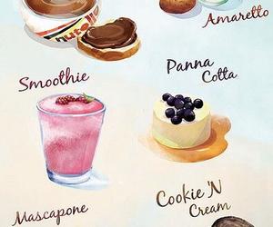 nutella, oreo, and pannacotta image
