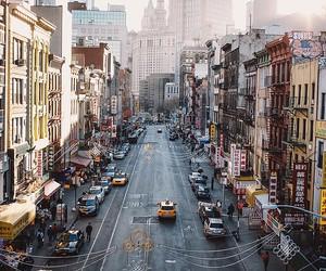 chinatown, city, and nyc image