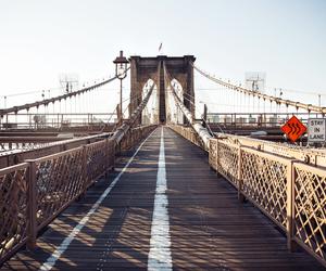 bridge, Brooklyn, and new york image