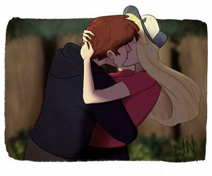 gravity falls, dipper pines, and pacifica northwest image