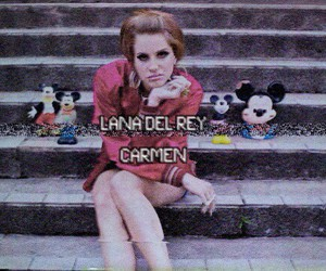lana del rey, Carmen, and grunge image