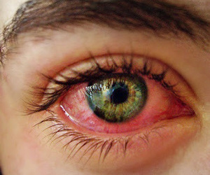 eyes, horror, and green image