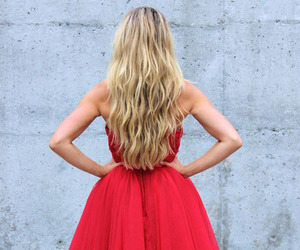 fashion, red, and hair image