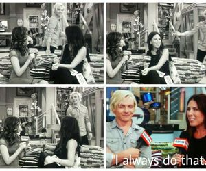 Laura, ross, and raura. image