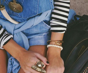 denim, style, and girl image