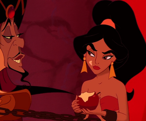aladdin, disney, and jafar image