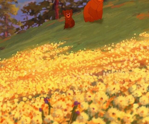 disney, happy, and brother bear image