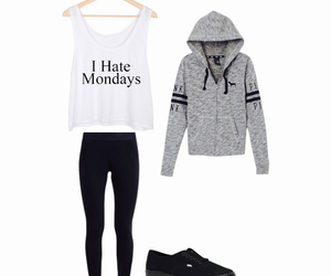 active, fashion, and monday's image