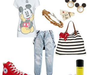 clothes, fashion, and disney image