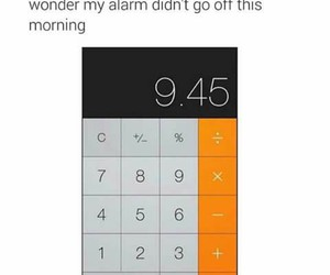funny, drunk, and alarm image