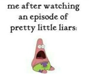 patrick, pretty little liars, and tv image