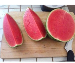 fruit, watermelon, and yum image