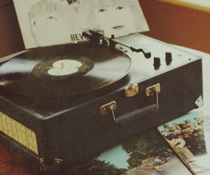 music, vintage, and hipster image